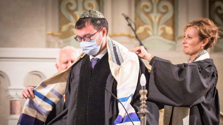 Slavnostní rabínská ordinace